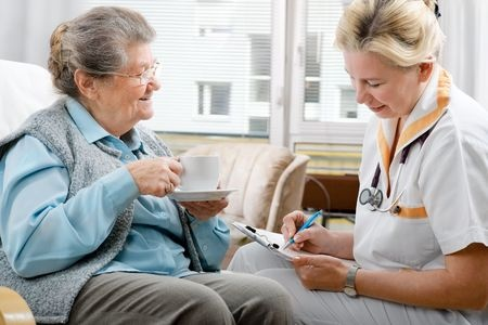 Senior home care from skilled nurse
