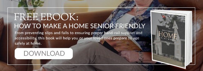 How to make a home senior-friendly by Generation Solutions (Free Ebook)